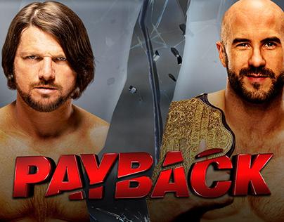 WWE Payback Match Card Set