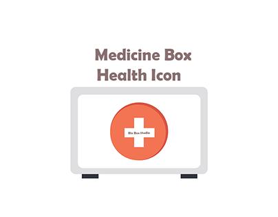 white medicine box health Icon