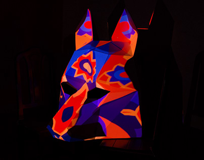 Inside a Wolf | Sculptural Videomapping