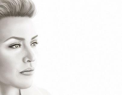 Digital Portrait - Kate Winslet