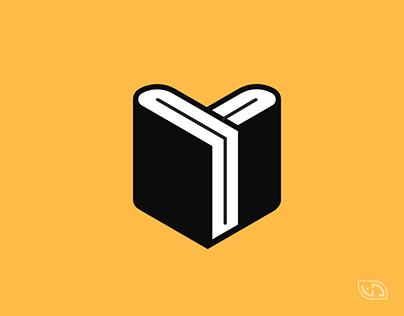 KSIĄŻKI KTÓRE UCZĄ • Logo design