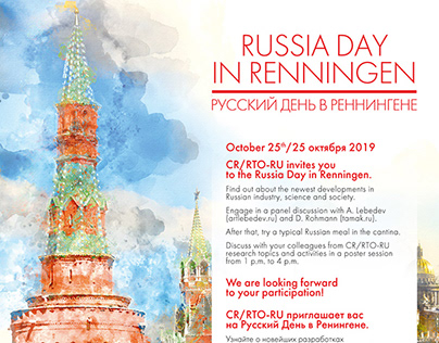 Russia day in Renningen