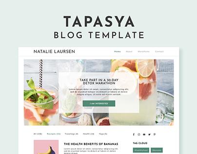 Tapasya | Blog Template