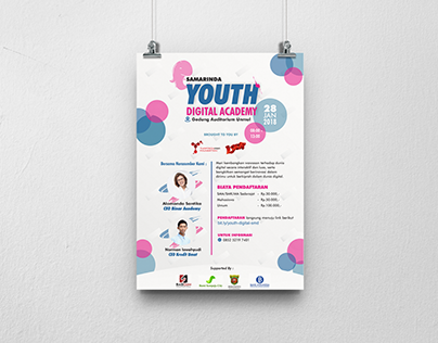 Poster for 2018 Youth Digital Event
