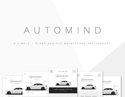 Automind - Vehicle Maintenance App