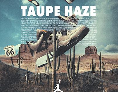 Air Jordan 4 Taupe Haze | Sneaker Advertisement