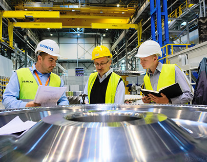 Siemens Gas Turbine factory.