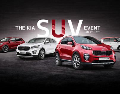 KIA - SUV EVENT