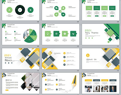 8IN1 EYE-CATCHING REPORT POWERPOINT