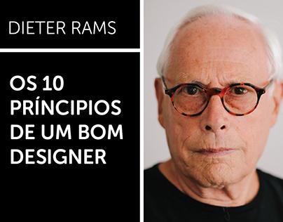Os 10 Príncipios de um Bom Designer