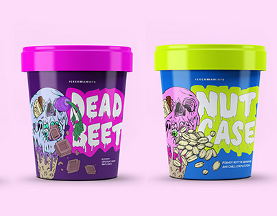 Wacky Ice-cream Packaging