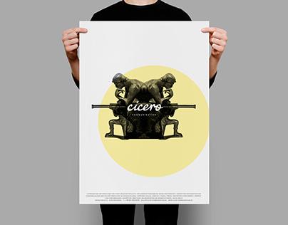 Corporate-Design- und Key-Visual-Entwicklung Cicero