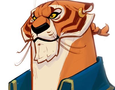 Capitan Tiger