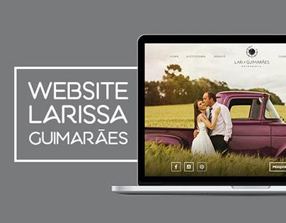 Website Larissa Guimarães