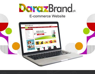 DARAZ BRAND E-COMMERCE WEBSITE