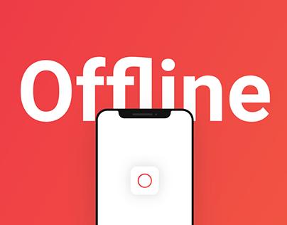 Offline: UX/UI Design Case Study