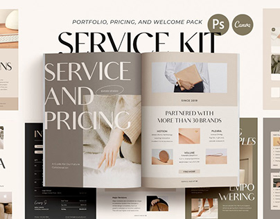Service and Pricing Kit