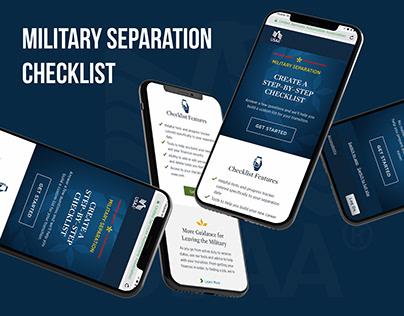 Separation Landing Page