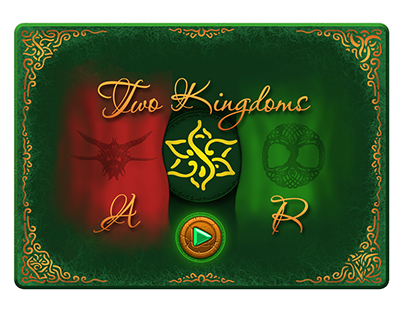 """Game """"Two Kingdoms AR"""" in the process"""