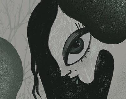 """Illustration """"Mermaid"""""""