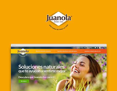Juanola / Website