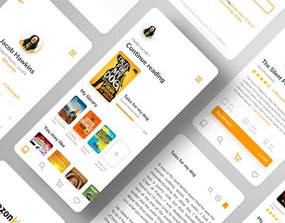Amazon Kindle App - Rebrand