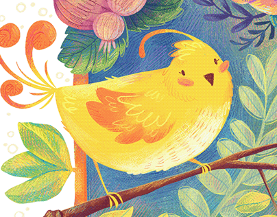 Yellow birdy boi
