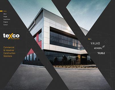 Texco Responsive Website