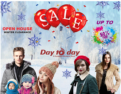 Day To Day Sale Banner Project