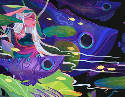 Blue Ocean|Illustration