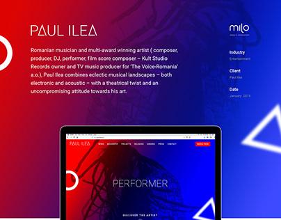 Paul Ilea - Film Score Composer, Producer, DJ, Perfomer