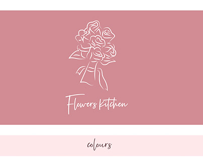 """LOGO FOR COMPANY """"FLOWERS KITCHEN"""""""