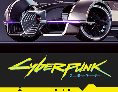 CYBERPUNK 2077, Rayfield AERONDNIGHT 3D concept