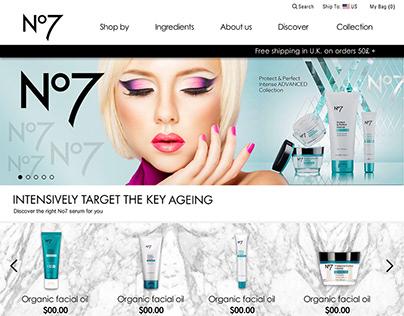 No7 Global E-commerce Store
