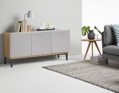 MADE - Nia - Wood sideboard