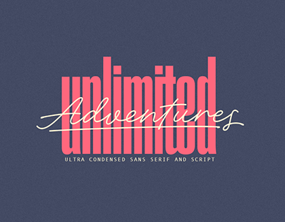 Adventures Unlimited Font Family