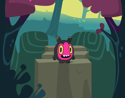 Mobile Game: Chunky Monsters in Nanaland