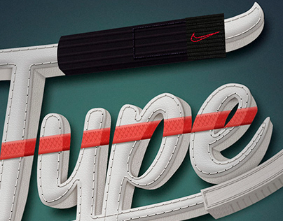 Lettering - Nike Air Force Type