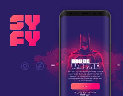 Syfy Channel - UX Design