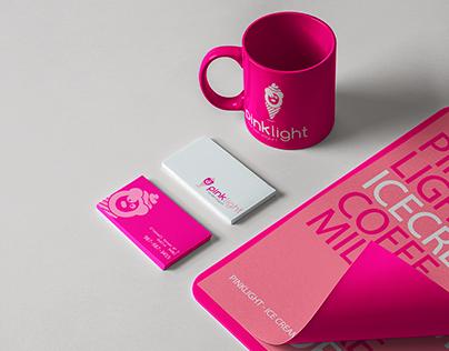 "Identidad Corporativa - ""PinkLight""."