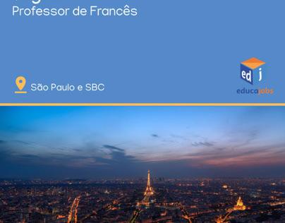 "Professor de Francês ""in company""."