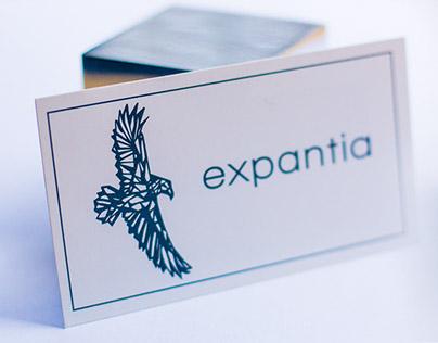 Logo design - expantia www.pieterleroux.co.za