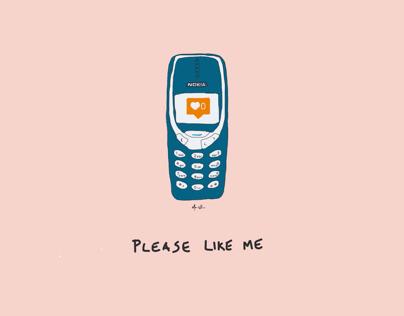 Oneminutesketch: social media