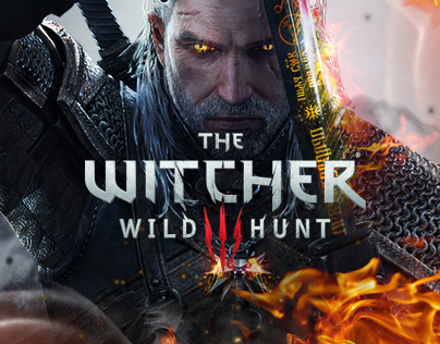 The Witcher 3: Wild Hunt Website Redesign Concept