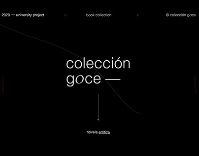 Goce | book collection