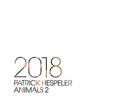 "ILLUSTRATION CALENDAR 2018 ""ANIMALS 2"""