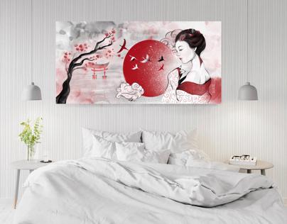 Asian Wall ART