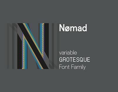Nømad Font Family