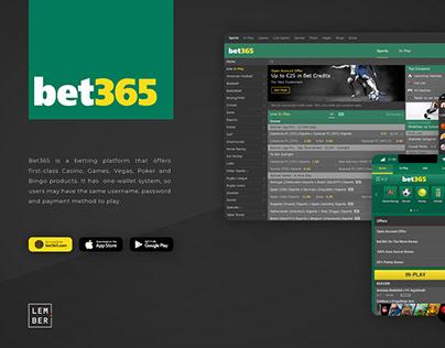 Bet365 betting platform