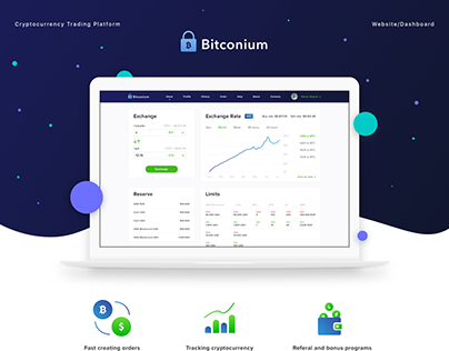 Bitconium - Website/Dashboard